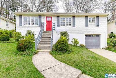 Homewood AL Single Family Home For Sale: $374,000
