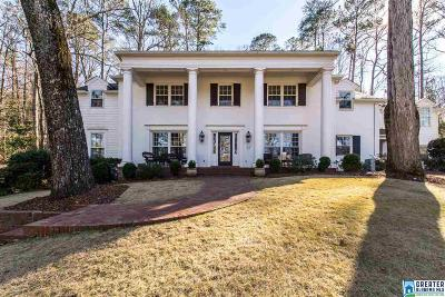 Mountain Brook Single Family Home For Sale: 3357 Cherokee Rd