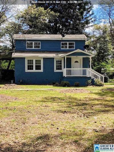Hueytown Single Family Home For Sale: 225 Fuller St
