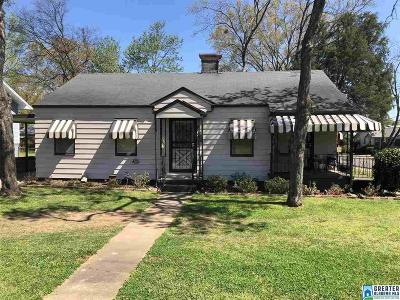 Bessemer Single Family Home For Sale: 321 9th St S