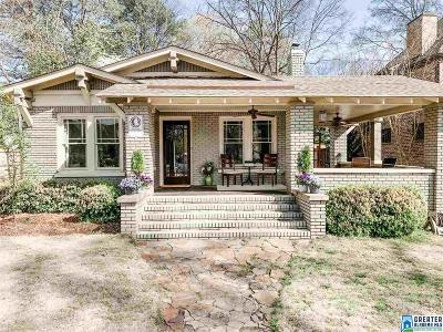 Homewood Single Family Home For Sale: 618 Wena Ave