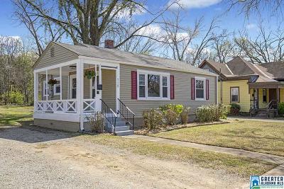 Birmingham AL Single Family Home For Sale: $79,900