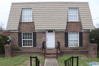 Birmingham AL Single Family Home For Sale: $132,500