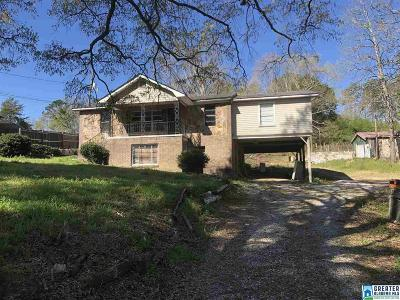 Bessemer Single Family Home For Sale: 5731 Fury Ln