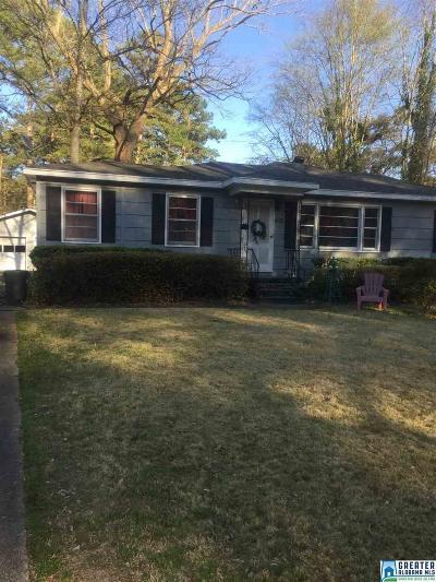 Birmingham Single Family Home For Sale: 605 Lee Dr