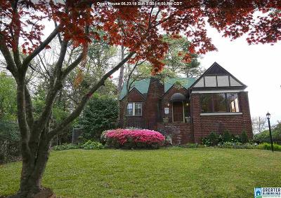 Homewood Single Family Home For Sale: 3411 Windsor Blvd