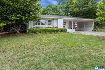 Vestavia Hills Single Family Home For Sale: 2120 Southwood Rd