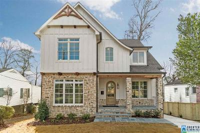 Homewood Single Family Home For Sale: 1603 Oxmoor Rd