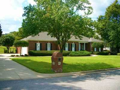 Anniston Single Family Home For Sale: 4727 Amberwood Ln