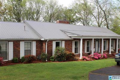 Anniston Single Family Home For Sale: 510 Hillyer High Rd
