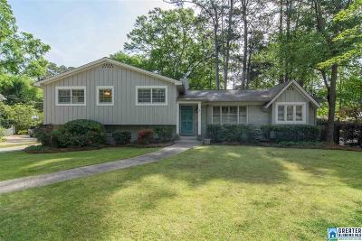 Mountain Brook Single Family Home For Sale: 932 Beech Ln