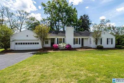Vestavia Hills Single Family Home For Sale: 1953 Shades Crest Rd