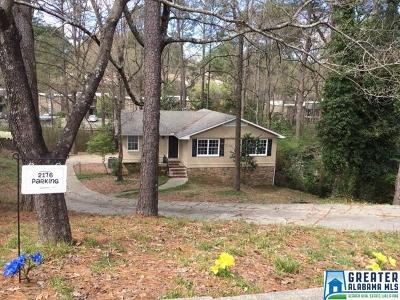 Hoover Single Family Home For Sale: 2176 Whiting Rd