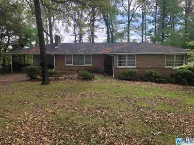 Single Family Home For Sale: 2812 Vestavia Forest Dr
