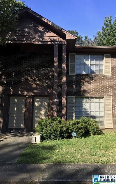 Hoover Condo/Townhouse For Sale: 3224 Westbrook Dr #1