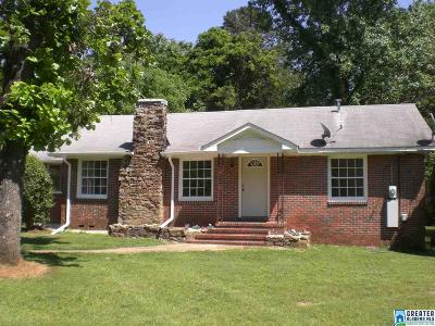 Bessemer Single Family Home Coming Soon-No Show: 1721 Shannon Rd