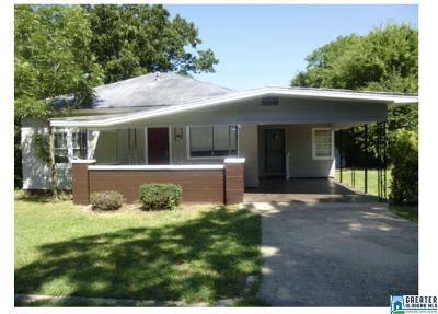 Bessemer Single Family Home For Sale: 208 Raimund Ave