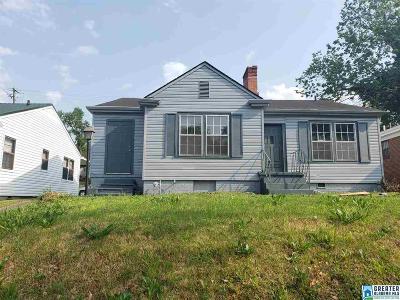 Birmingham AL Single Family Home Coming Soon-No Show: $67,000