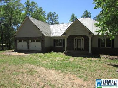 Clay County, Cleburne County, Randolph County Single Family Home For Sale: 2810 Co Rd 256