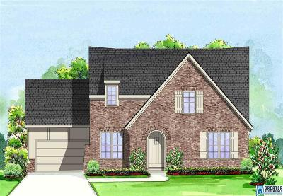 Chelsea Single Family Home For Sale: 522 Willow Branch Cir