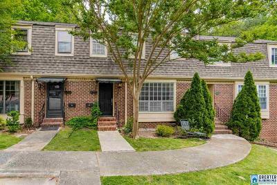Mountain Brook AL Condo/Townhouse For Sale: $249,900