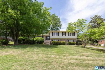 Mountain Brook Single Family Home For Sale: 3656 Crestside Rd