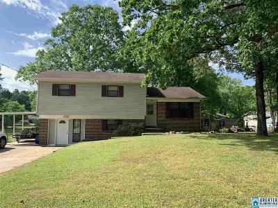 Fultondale Single Family Home For Sale: 1808 Donafred Rd