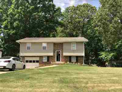 Anniston Single Family Home For Sale: 6318 Gunter St