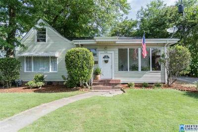 Homewood Single Family Home For Sale: 920 Palmetto St