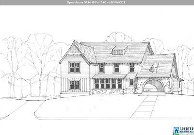 Jefferson County, Shelby County, Madison County, Baldwin County Single Family Home For Sale: 2012 Blackridge Rd