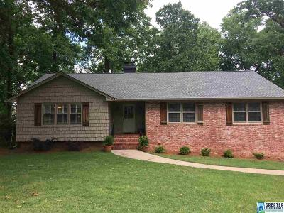 Vestavia Hills Single Family Home For Sale: 845 Mountain Branch Dr