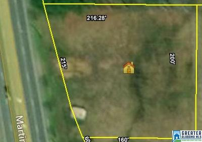 Pell City Residential Lots & Land For Sale: 1380 Martin St