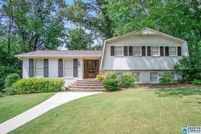 Mountain Brook Single Family Home For Sale: 3828 Briar Oak Dr