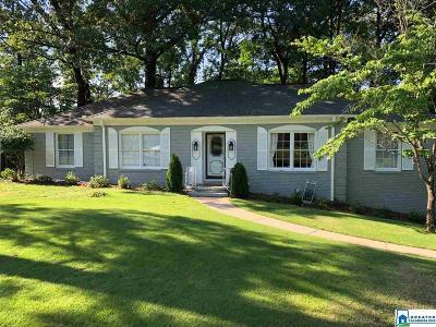Vestavia Hills Single Family Home For Sale: 3260 Brashford Rd