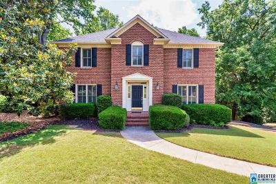 Single Family Home For Sale: 2112 Cahaba Crest Dr