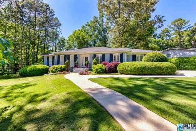 Vestavia Hills Single Family Home For Sale: 2100 Vestridge Dr