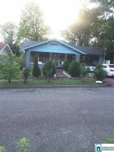 Birmingham Single Family Home For Sale: 1408 N 22nd St