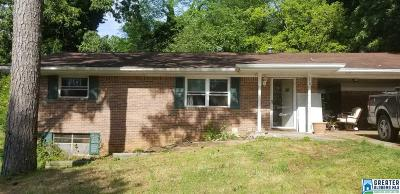 Hueytown Single Family Home Contingent: 119 Pinecrest Rd