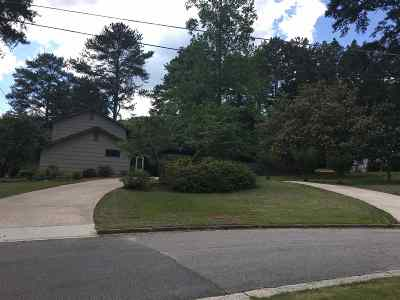 Anniston Single Family Home For Sale: 1500 Lakeshore Dr