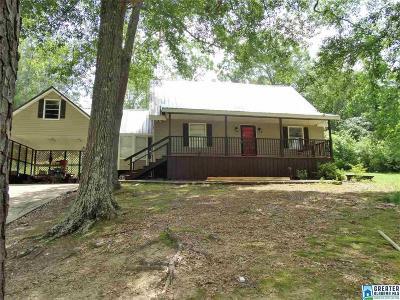 Talladega Single Family Home Contingent: 520 Pine Point Ln