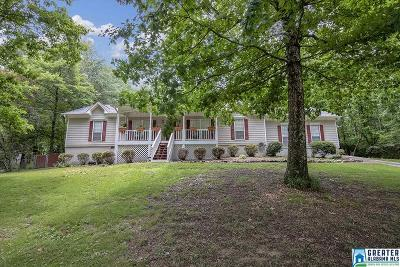Trussville Single Family Home For Sale: 7787 Taylor Shop Rd
