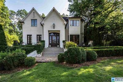 Mountain Brook Single Family Home For Sale: 16 Glenview Cir