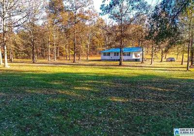 Pell City Single Family Home Contingent: 647 Walkers Crossing Rd