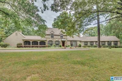 Single Family Home For Sale: 5000 Cahaba Valley Trc