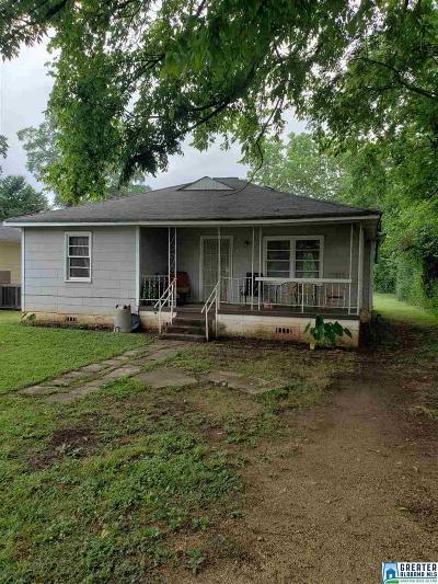 Bessemer Single Family Home For Sale: 1805 Short 12th St