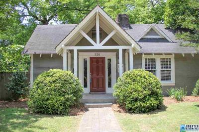 Birmingham Single Family Home For Sale: 528 56th St S