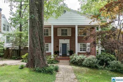 Homewood Single Family Home For Sale: 316 E Glenwood Dr