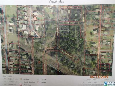 Residential Lots & Land For Sale: Edwards Circle Sylacauga Hwy NW