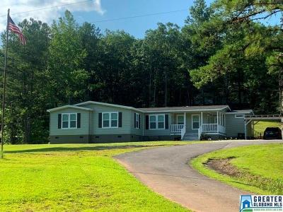 Clay County, Cleburne County, Randolph County Single Family Home For Sale: 2398 Pleasant Hill Rd