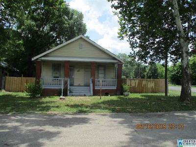 Bessemer Single Family Home For Sale: 2901 12th Ave N